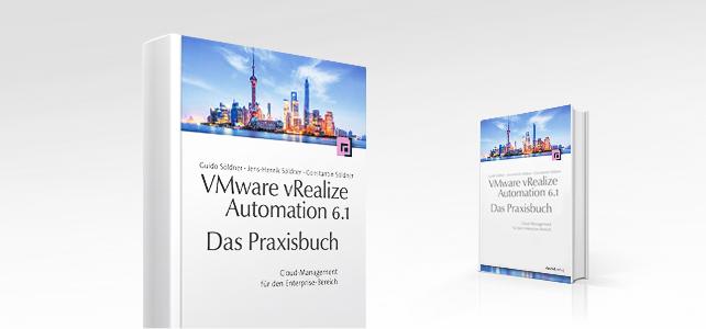 """Unser neues Praxisbuch """"VMware vRealize Automation Center"""" im dpunkt Verlag kann vorbestellt werden"""