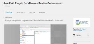 JsonPath Orchestrator Plug-in auf VMware Solutions Exchange erschienen