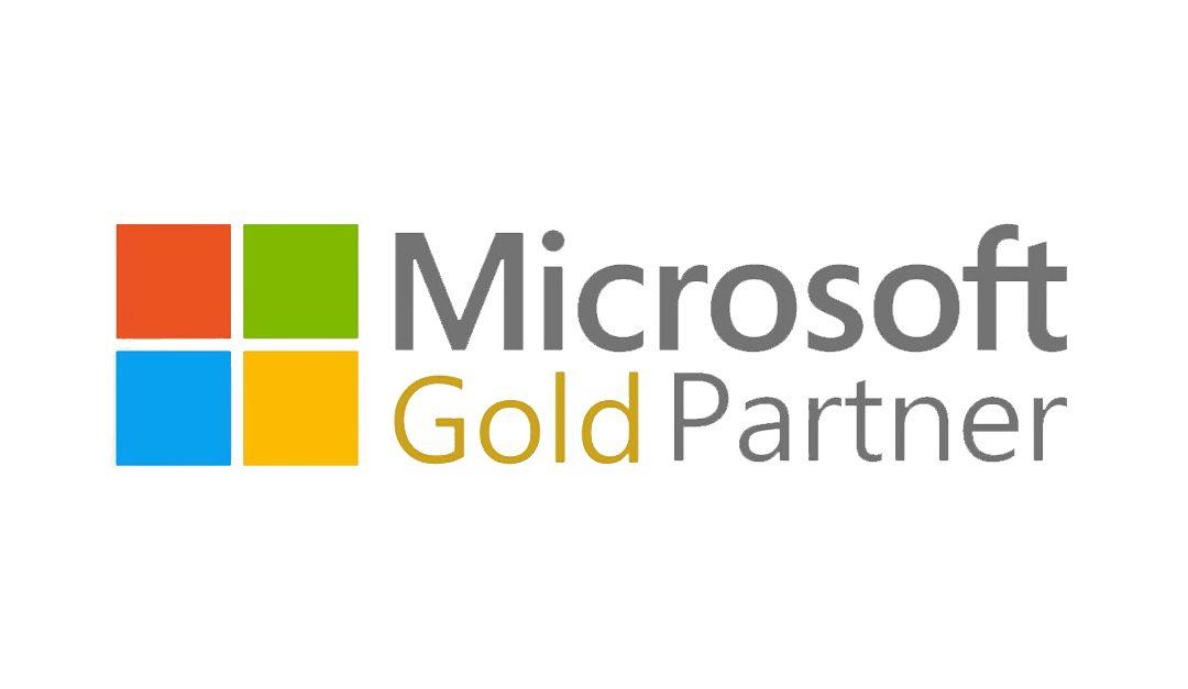 Microsoft Gold Partner Status erreicht