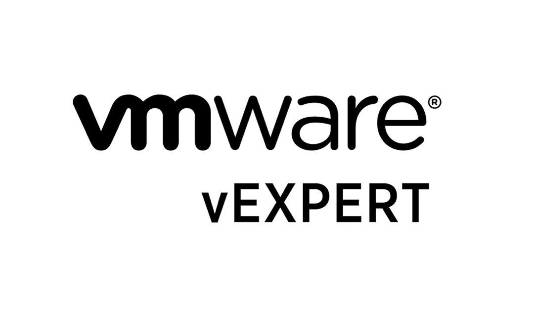 VMware vExperts Auszeichnung 2020